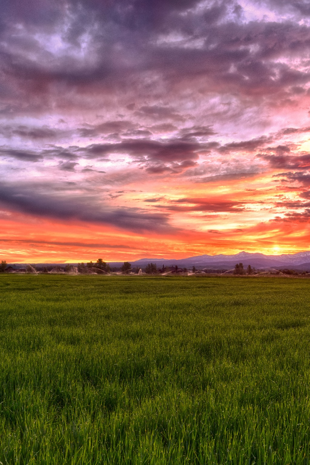 Mountain Sunrise via Stacy White