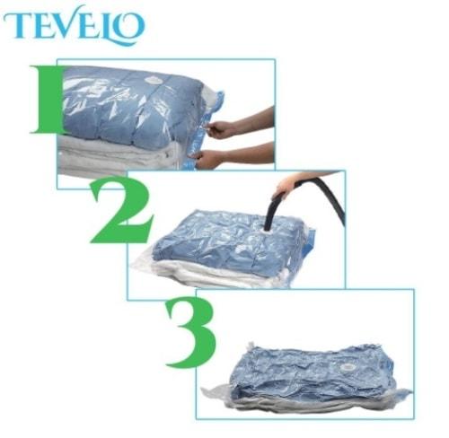 16 Pcs Clothing Vacuum Sealer Bags For Closet Storage with F... via michael jones