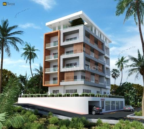 3D Building Architectural Rendering via Vittoria Dmowska