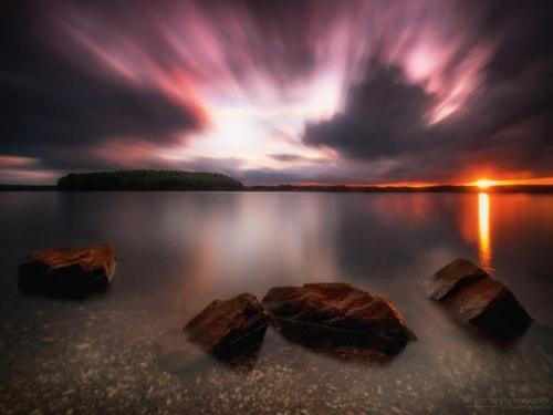 Greatful Sunset Bavaria via Harry Spangler