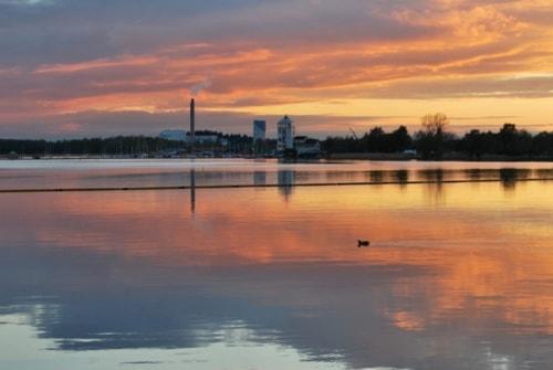 Coloured sky                                                                          #photography #landscape #seascape #sunset #nat... via L Kerlund