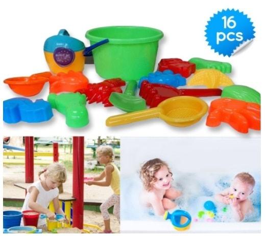 Sand Bucket Beach Toys via michael jones