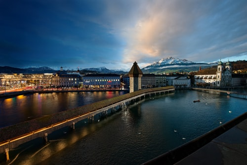 A Day in Lucerne via Tim Temple