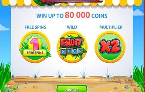 This fruit machine (pun intended!) is so colorful and well t... via michael jones