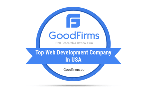 IndiaNIC Ranked as the Prominent Web Development Company in USA by GoodFirms