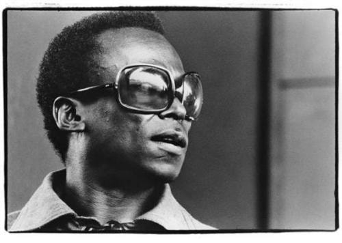 Miles Davis at Newport, July 1969 by Amalie R. Rothschild via Barbara Fariña