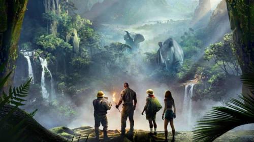Jumanji: Welcome to the Jungle (2017) via Alex Mathew