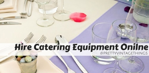 Hire Catering Equipment Online at Best Price via David Parker
