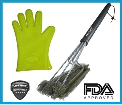 By choosing this set you'll protect your hands and skin from... via michael jones
