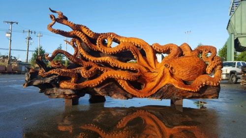 This Redwood Sculpture Will Blow Your Mind