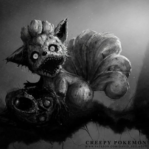Have You Ever Seen Pokemon in This Terrifying Light?