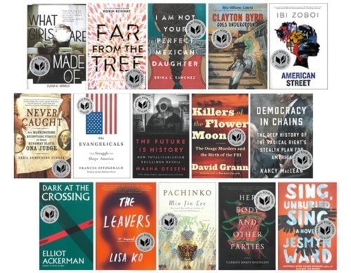 The 2017 National Book Awards finalists