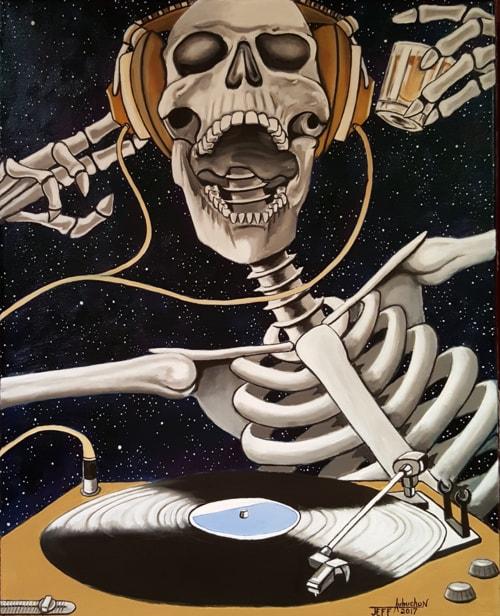 Bone Man Vinyl via Jeff Aubuchon