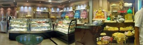 Dubai cakes via Shantha Kumar