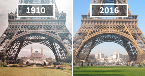 10+ Before and After Photos Of How The World Has Changed Over Time