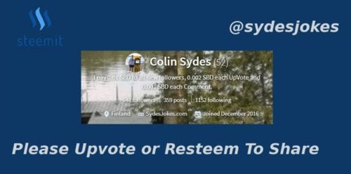 My Top Steemit Interactions for Sunday 19th November 2017                                                                                                               ... via Colin Sydes