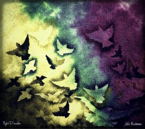 Flight To Freedom via Jolie Buchanan