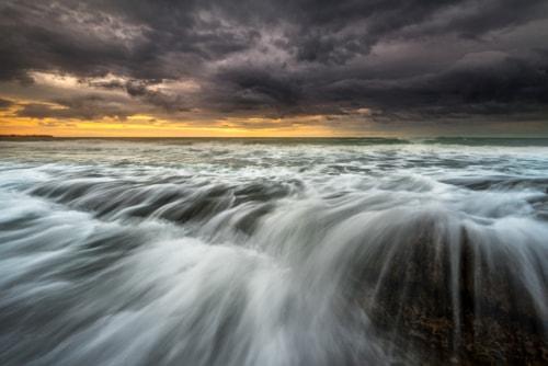 Angry Sea via Peter Földiak