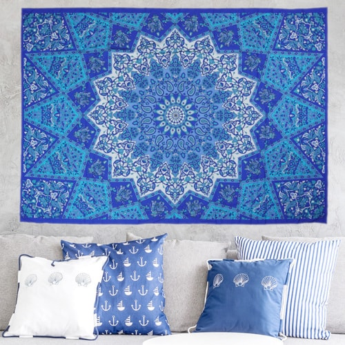 Stunning collection of star mandala wall hangings to brighte... via Adam Smith