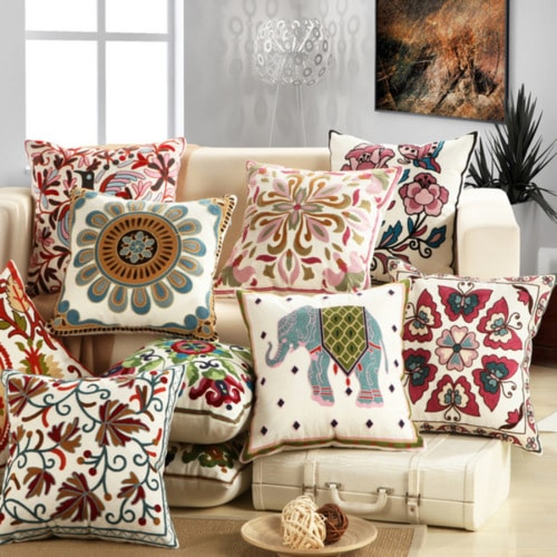 Christmas Sale- Wide range of pillow covers, Cushion covers ... via Adam Smith