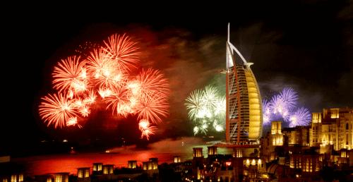 Enjoy New Year Celebrations at Burj Khalifa and Burj Al Arab for Dh125
