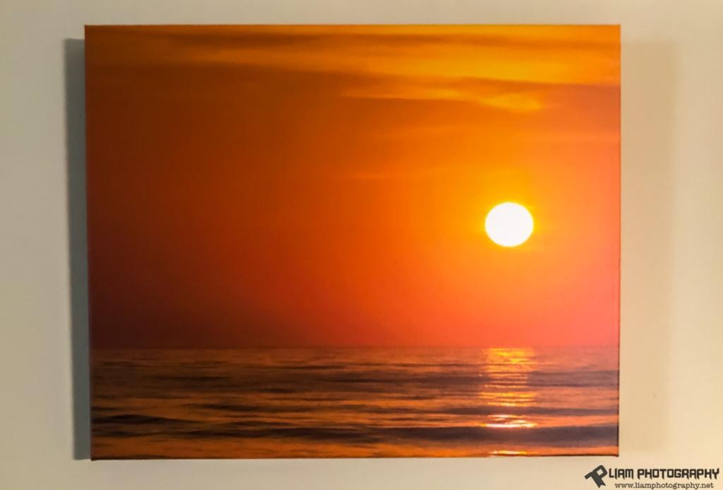Tybee Island Sunrise Wrap Print via Liam Douglas - Professional Photographer