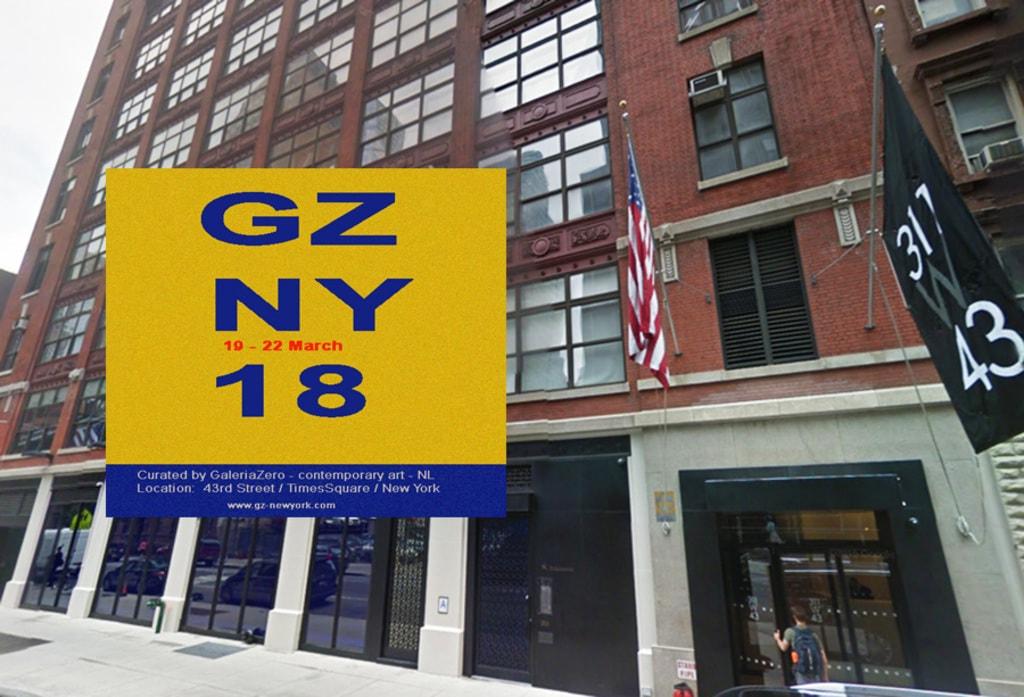 THE LAST FEW DAYS to apply for GZ-NEWYORK 2018 via GZ-ArtEvents