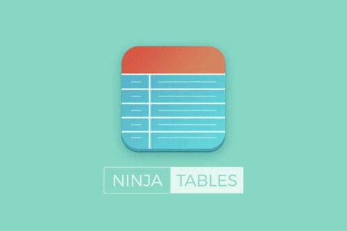 Ninja Tables – Best Responsive Table Plugin for WordPress - WP Color Lab