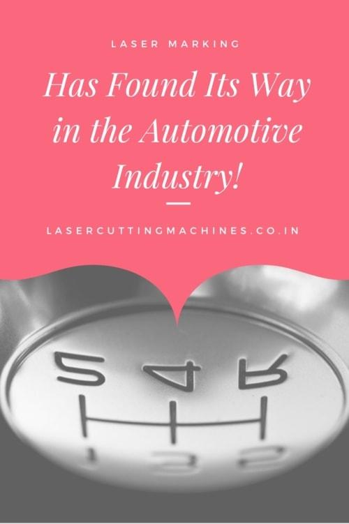 Laser Marking Has Found Its Way in the Automotive Indus... via Prakash Laser