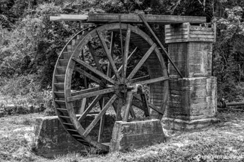 Old Waterwheel via Liam Douglas - Professional Photographer