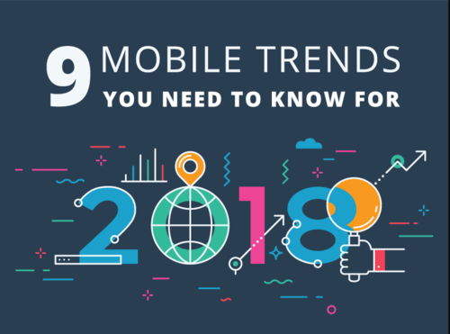 9 Mobile Trends You Need To Know For 2018
