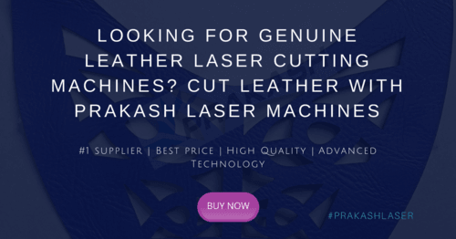 Looking for high-quality leather laser cutting machines? Cut... via Prakash Laser