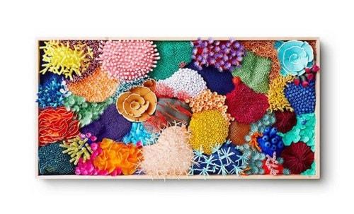 Vibrant Paper Art Sculpture Captures the Diversity of a Coral Reef