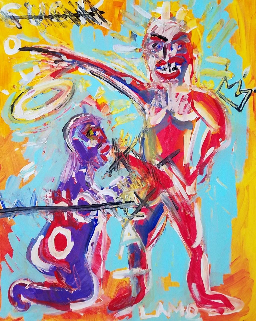 Series.. graffiti, expressionist via David carter