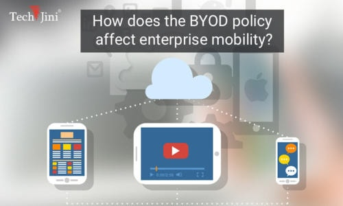 How does the BYOD Policy affect Enterprise Mobility?
