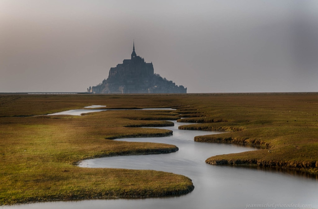 Meanders - Mont Saint Michel Bay via Jean Michel