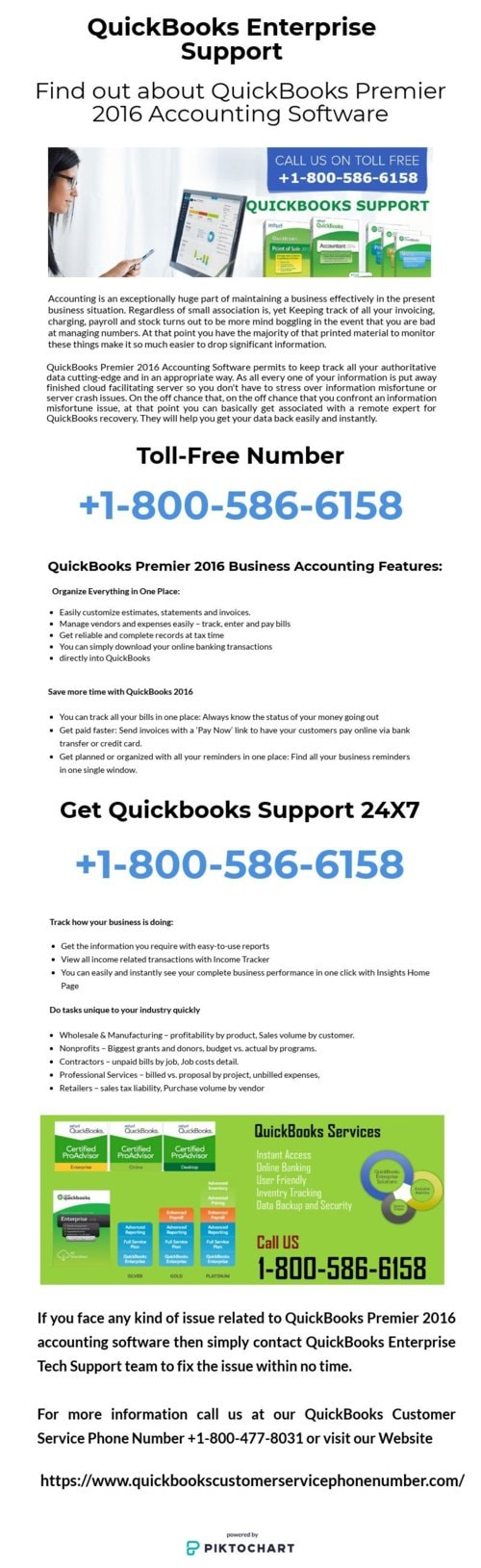 QuickBooks Premier Accounting Software take Industry Account
