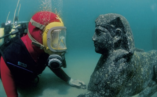 Amazing Egyptian Artifacts Recovered from Sunken Cities in the Nile Delta
