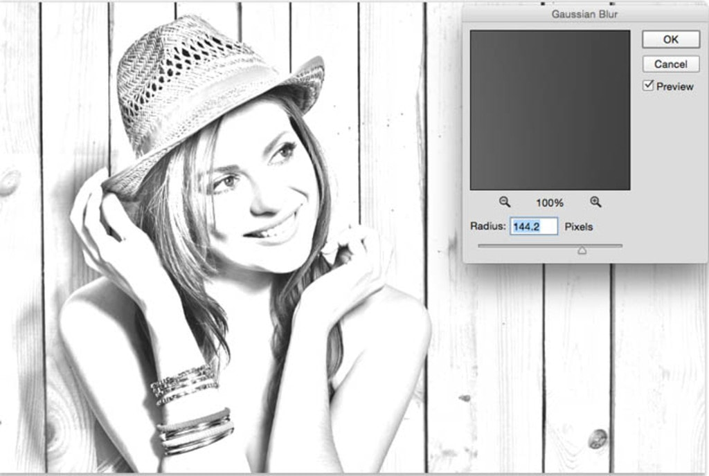 Turn a photo into a pencil sketch in Photoshop tutorial - Ph... via FotoCrowd