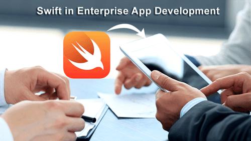 Role of Swift in Enterprise App Development via samsandy
