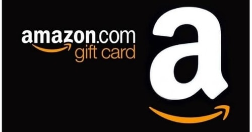 Here's your Free Amazon Gift Card!