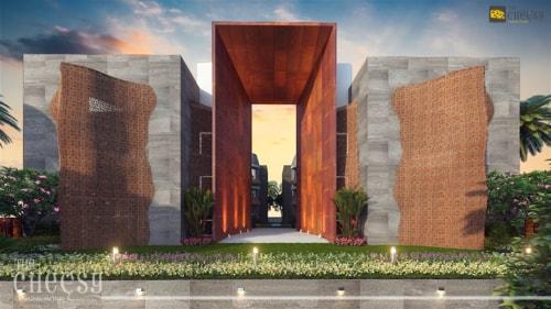 3D Architectural Animation Design 2018 via Vittoria Dmowska