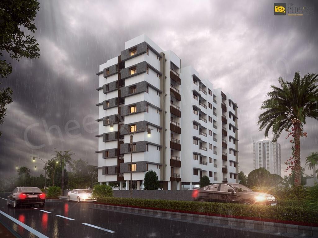Residential 3D Architectural Rendering via Vittoria Dmowska