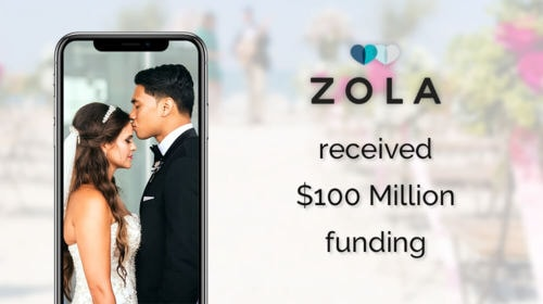 Zola - E-commerce wedding startup recently got funded with $100 million  | WeeTech Solution Pvt Ltd
