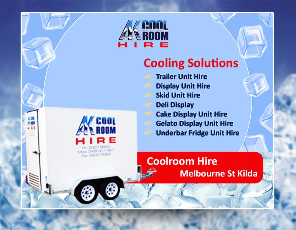 Coolroom Hire Melbourne St Kilda via Kellie Brooks
