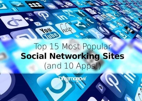 Top 15 Most Popular Social Networking Sites and Apps [June 2018]