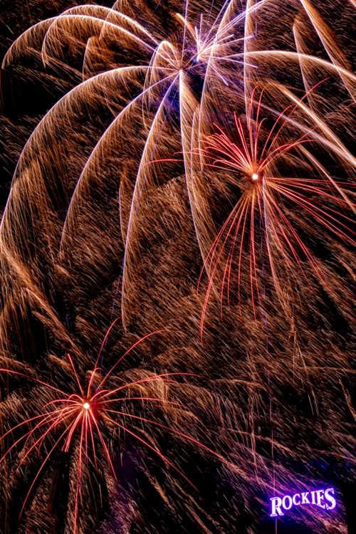 fireworks do not understand personal space via David Brown Eyes