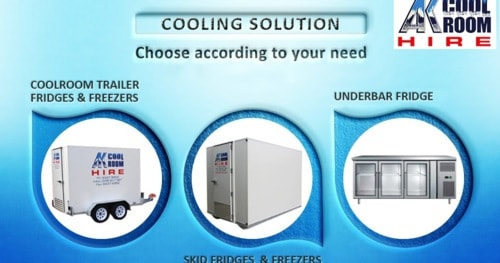AK Coolroom and Freezer Hire Safety at your Events