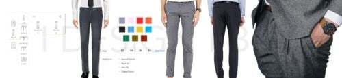 Custom Made Pants Design Tool For Online Tailoring Software India