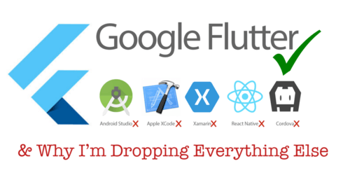 Flutter, Ionic,  React Native or Xamarin? What you use and w...